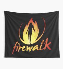 Firewalk Bandlogo - Before the Storm - Life is Strange 1.5 Wall Tapestry