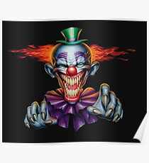 Killer Evil Clown Poster