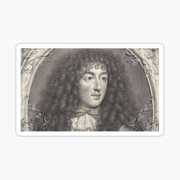 Versailles - Monsieur - Philippe d'Orleans Sticker