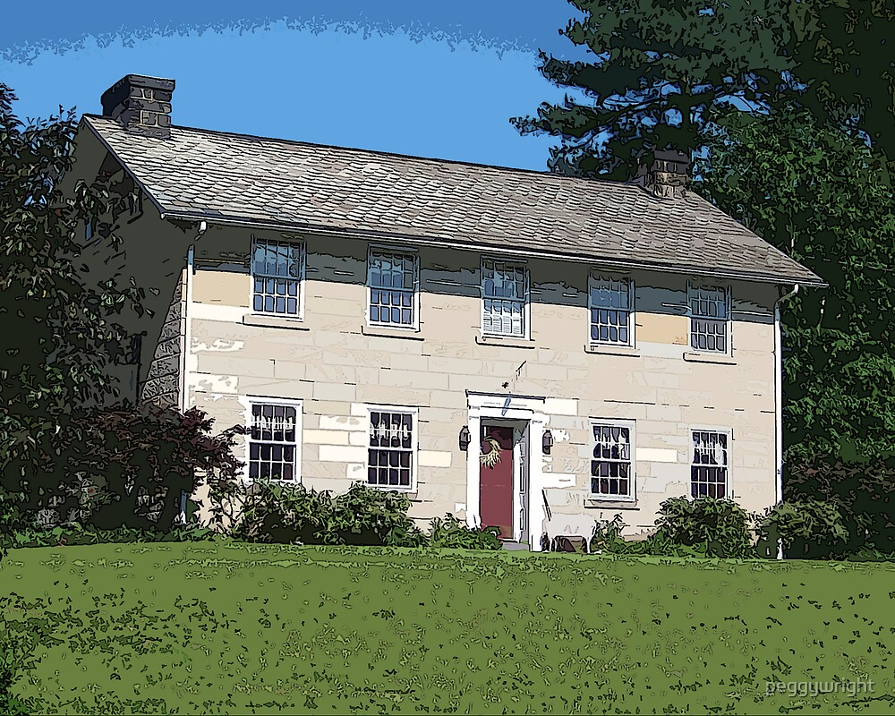 Old Limestone House by peggywright