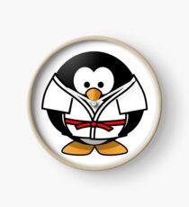 Pingouin judoka Clock