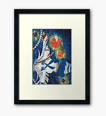 Space Time Travel Framed Print