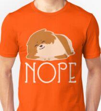 Nope Lazy Pomeranian Shirt T-Shirt