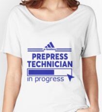 PREPRESS TECHNICIAN Women's Relaxed Fit T-Shirt