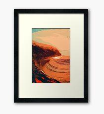 Sunset on the Ocean Framed Print