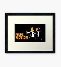 Pulpe Fiction Framed Print