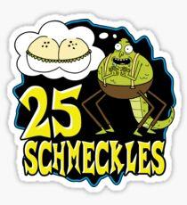 25 Schmeckles Sticker