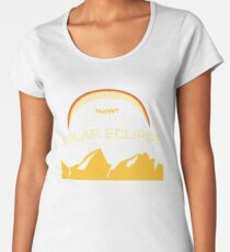 solar eclipse Women's Premium T-Shirt