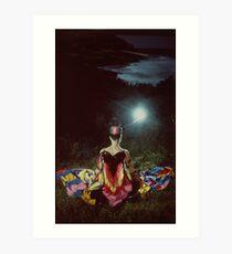 Goddess 1992 Art Print