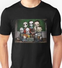 Horror Collage Funny Overlook High T-Shirt