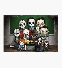 Horror Collage Funny Overlook High Photographic Print