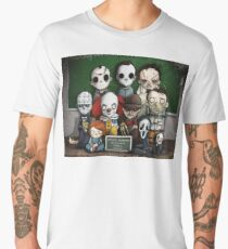 Horror Collage Funny Overlook High Men's Premium T-Shirt