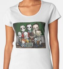 Horror Collage Funny Overlook High Women's Premium T-Shirt