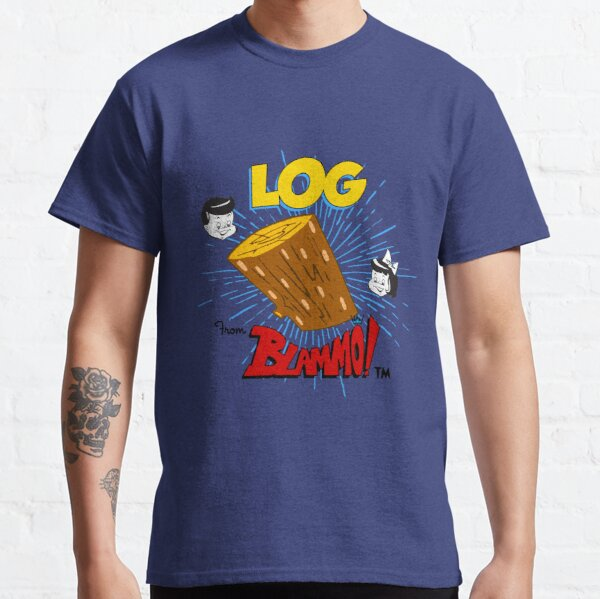 Log : Inspired by Ren And Stimpy Classic T-Shirt