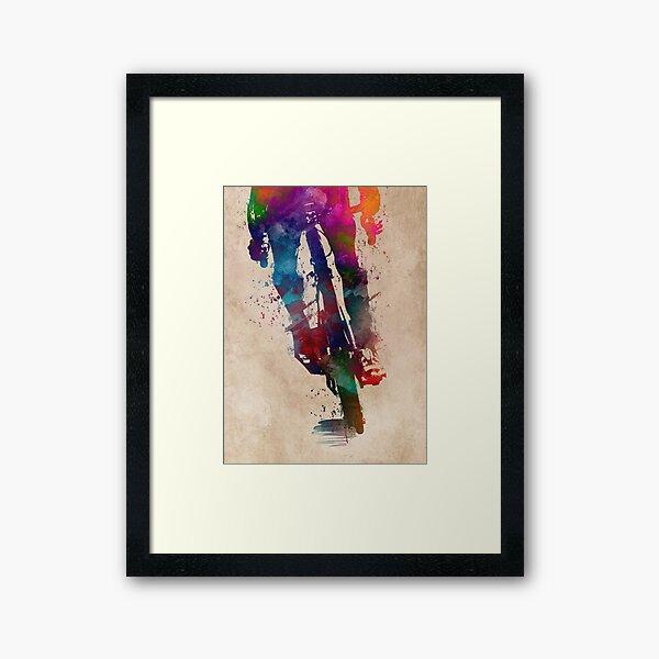 cycling #sport #cycling Framed Art Print