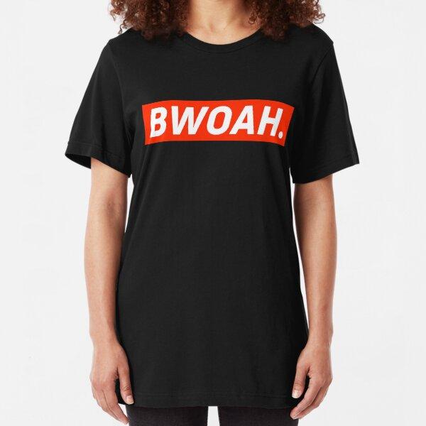 Bwoah Kimi  Slim Fit T-Shirt