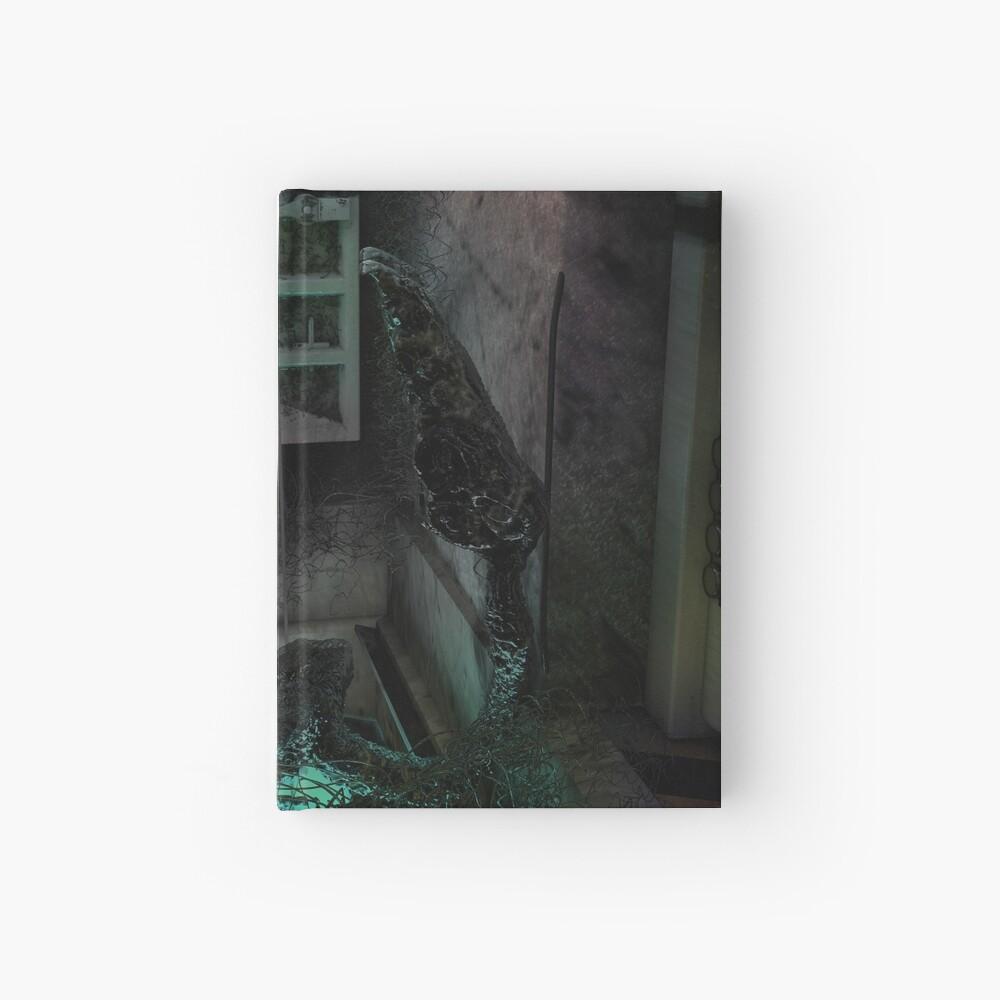Creature in the dark Hardcover Journal