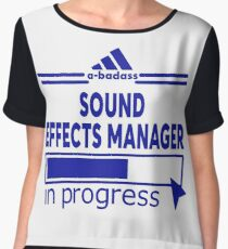 SOUND EFFECTS MANAGER Women's Chiffon Top