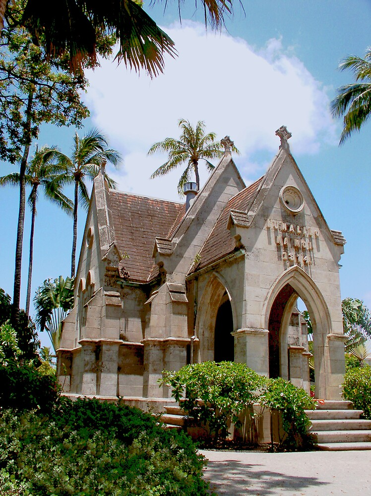 Old Church under the Palms by Charlie54