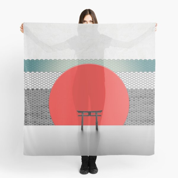 The Red Sun Scarf