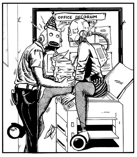An Office Affair by moonwalkerwiz