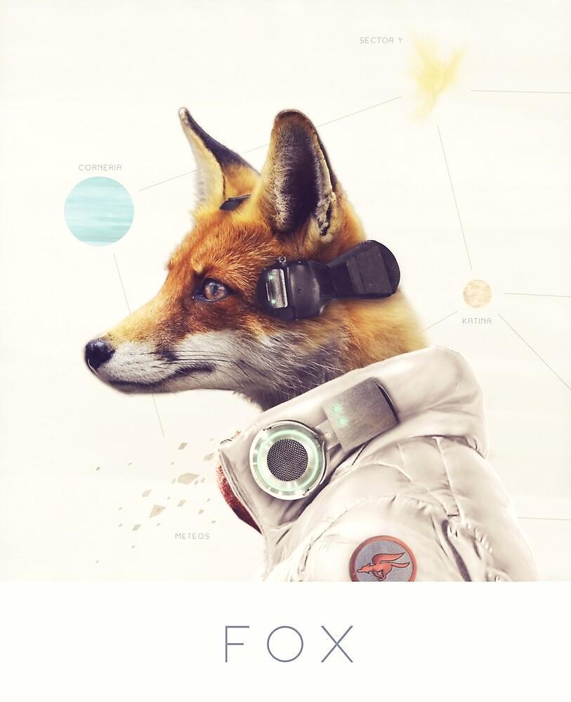 Star Team - Fox by Andy Wynn