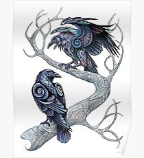 Hugin and Munin Poster