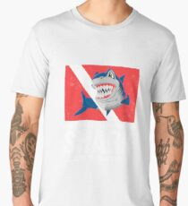 I Don't Have To Outswim The Shark...Just My Diver Buddy Men's Premium T-Shirt