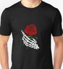rose skeleton T-Shirt
