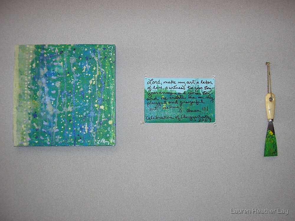 Prayer for Artists by Lauren Heather Lay