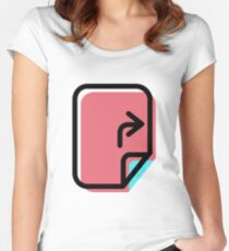 File Women's Fitted Scoop T-Shirt