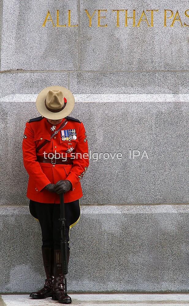 Cenotaph Vigil by toby snelgrove  IPA