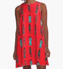 cat solo and gang A-Line Dress