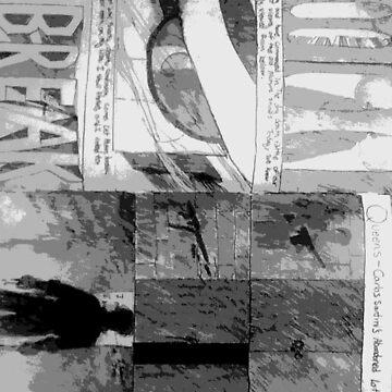 Noir Comic Book Original by Jingim24