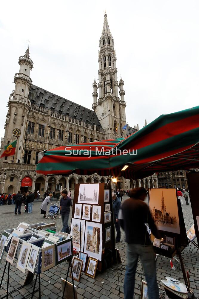 Grote Markt, Brussels by Suraj Mathew