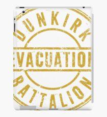 Dunkirk Evacuation Batallion iPad Case/Skin