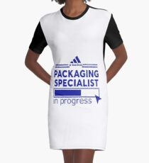 PACKAGING SPECIALIST Graphic T-Shirt Dress