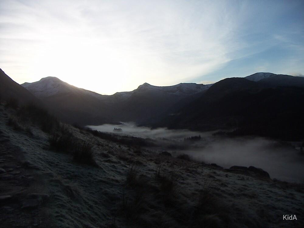 Glen Nevis at dawn, Scotland by KidA