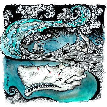 The Monster and the Beast - White Whale in the Ocean by ZoJones