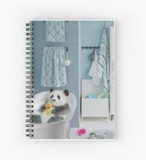 Bathtime Spiral Notebook