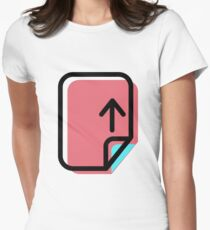 File Women's Fitted T-Shirt