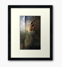 Reality Clash Framed Print