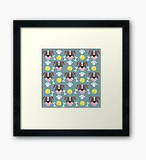 Pitbull Love Framed Print