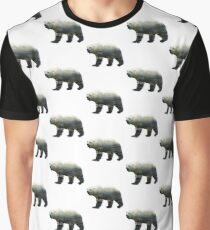 Bear Huts Graphic T-Shirt
