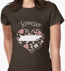 Tennessee - Always In My Heart (Pastel Color Version) T-Shirt