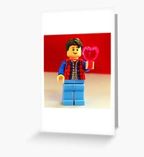 Marty McFly Valentines Greeting Card