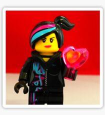 Wyldstyle Valentines Sticker