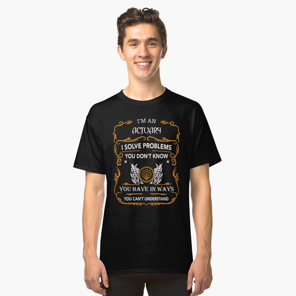 ACTUARY Classic T-Shirt Front
