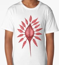 abstract nature textile pattern Long T-Shirt
