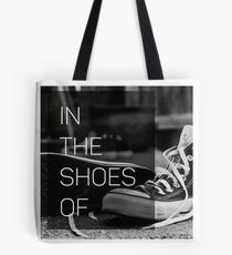 In The Shoes Of Podcast Merch Tote Bag